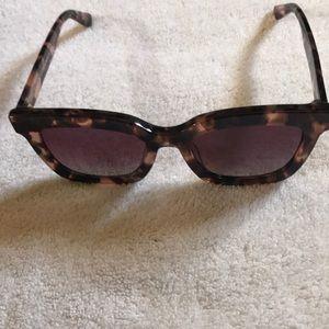Diff Eyewear Accessories - Purple tinted sunglasses
